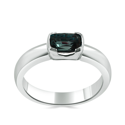 Natural Brazilian Alexandrite Custom Dress Ring